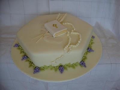 bolo decorado 1 comunhao