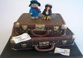 bolo decorado Urso Paddington