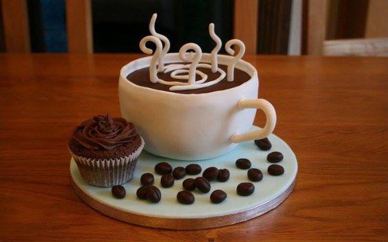 bolo decorado cafe original