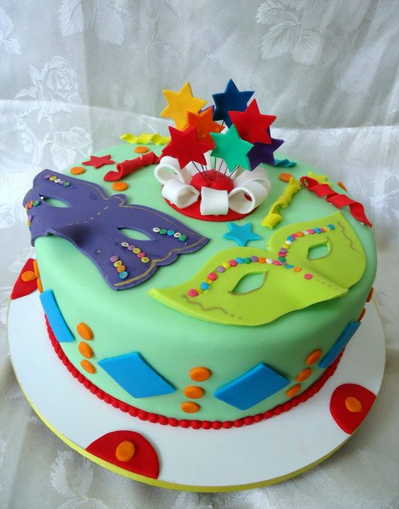 bolo decorado carnaval 4