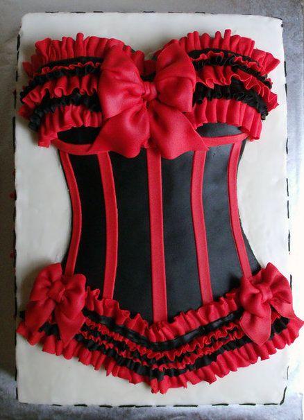 bolo decorado cha lingerie 6