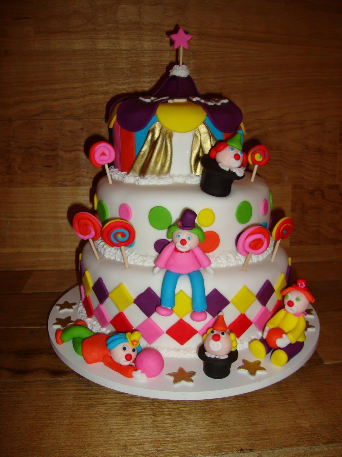 bolo decorado circo 3