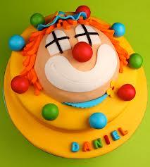 bolo decorado circo palhaço