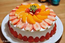 Bolos Decorados Com Frutas