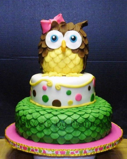 Fotos de bolos decorados coruja bolo decorado coruja1 thecheapjerseys Gallery