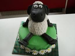 bolo decorado da ovelha chone