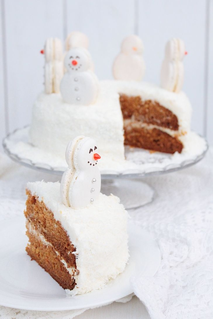 bolo decorado de natal