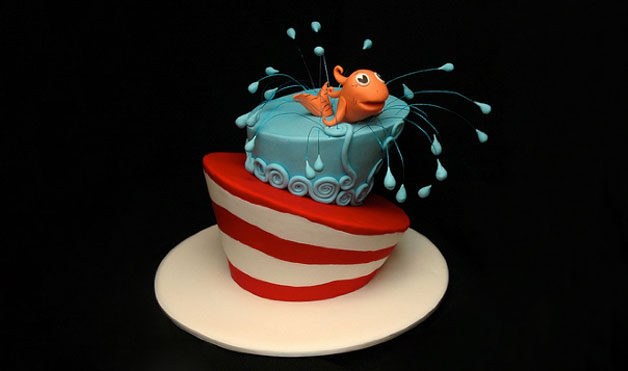 bolo decorado dr seuss