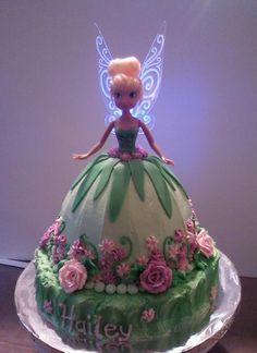 bolo decorado fada sininho