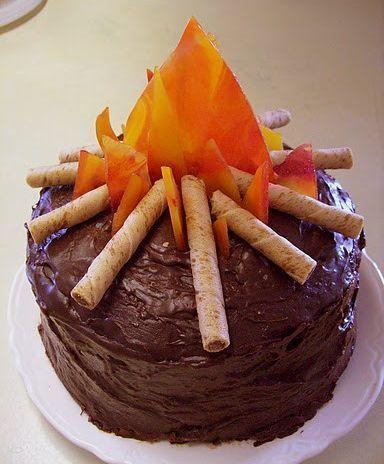 bolo decorado festa junina 1