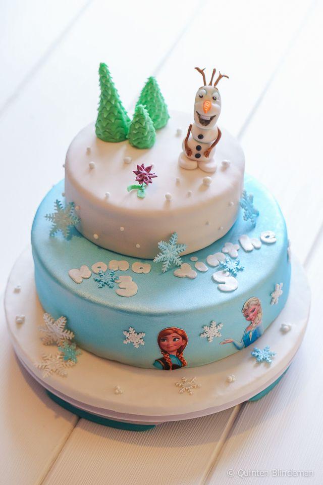bolo decorado frozen