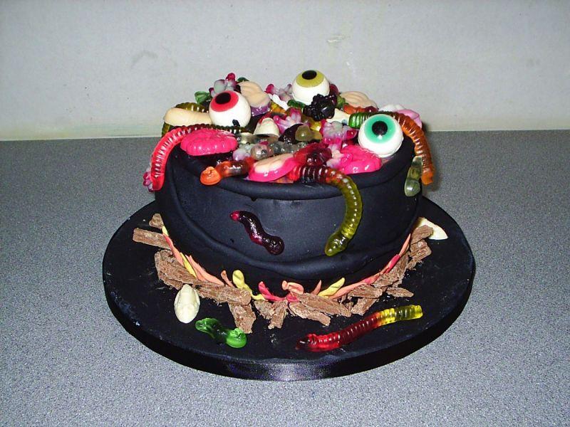 Ideias de bolos Halloween