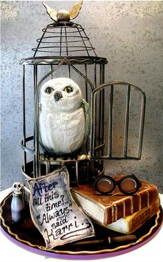 bolo decorado harry potter