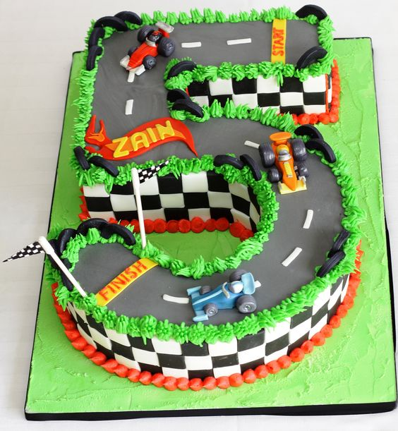 Bolos Decorados Hot Wheels