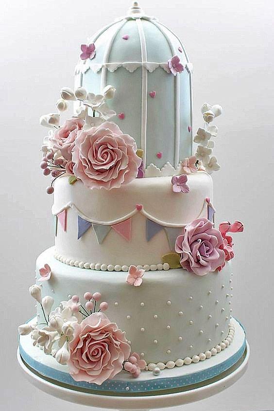 bolo decorado jardim secreto 2