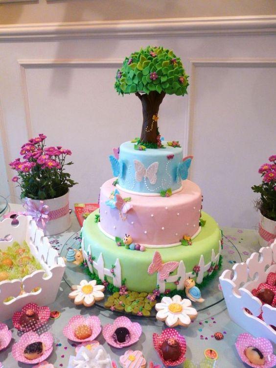 bolo decorado jardim secreto 8