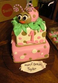 bolo decorado joaninha