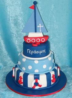 bolo decorado marinheiro