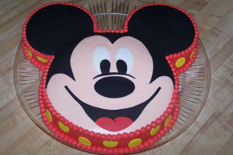 bolo decorado mickey formato