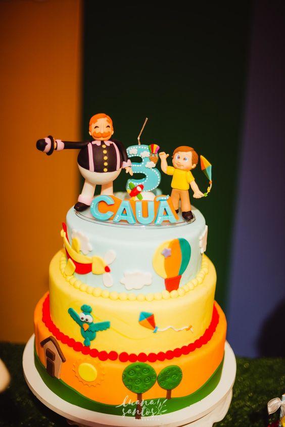 bolo decorado mundo bita 1
