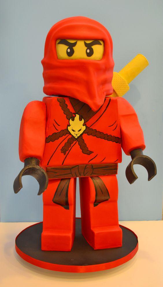 bolo decorado ninjago 4