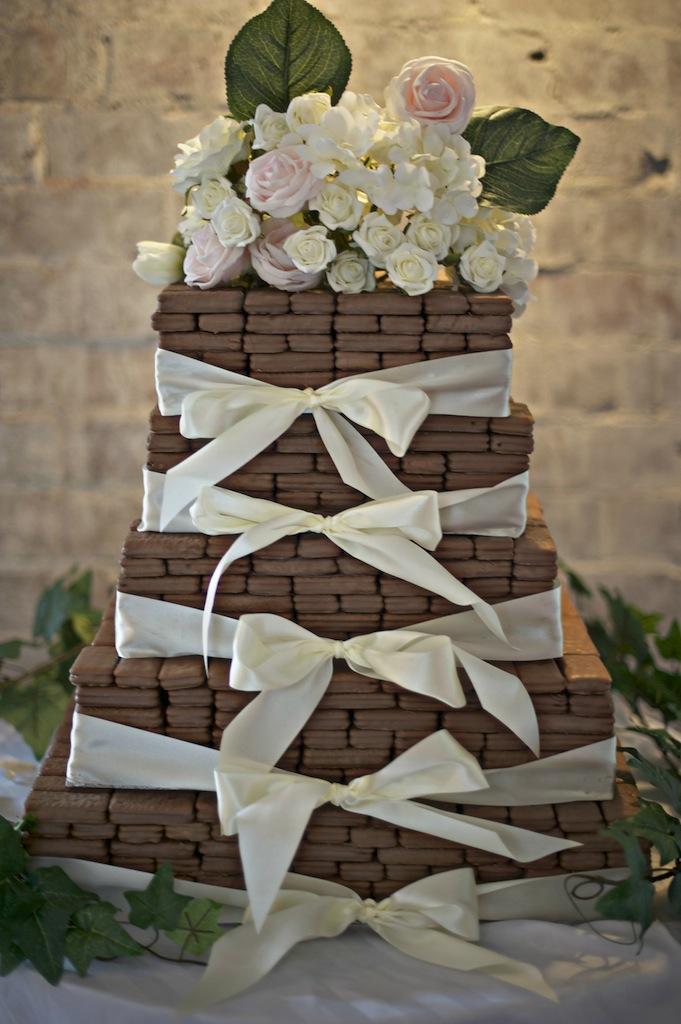 bolo decorado noivado