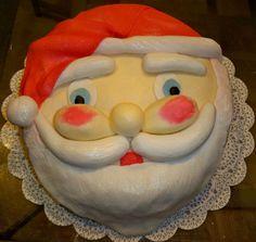 bolo decorado papai noel