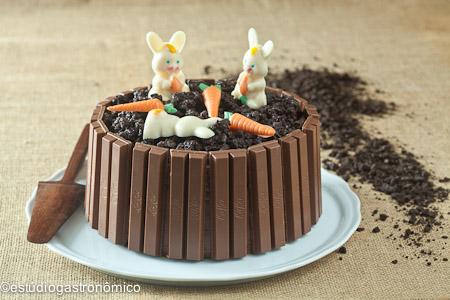 bolo decorado pascoa chocolate1