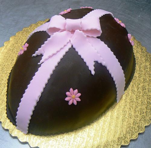 bolo decorado pascoa