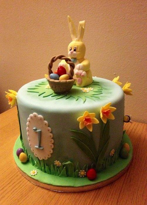 bolo decorado pascoa1