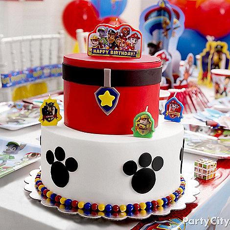 bolo decorado patrulha pata