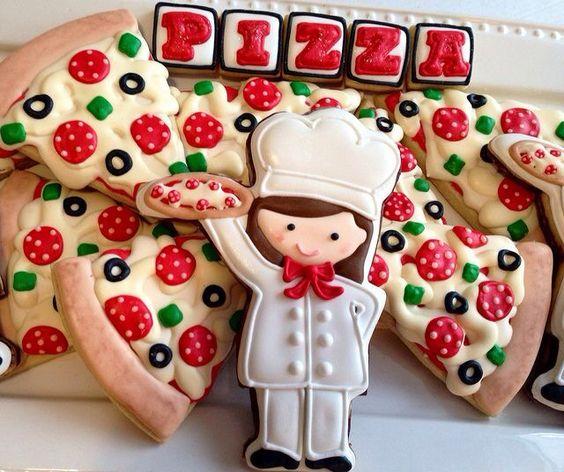bolo decorado pizza 1
