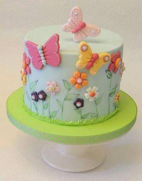 bolo decorado primavera 15