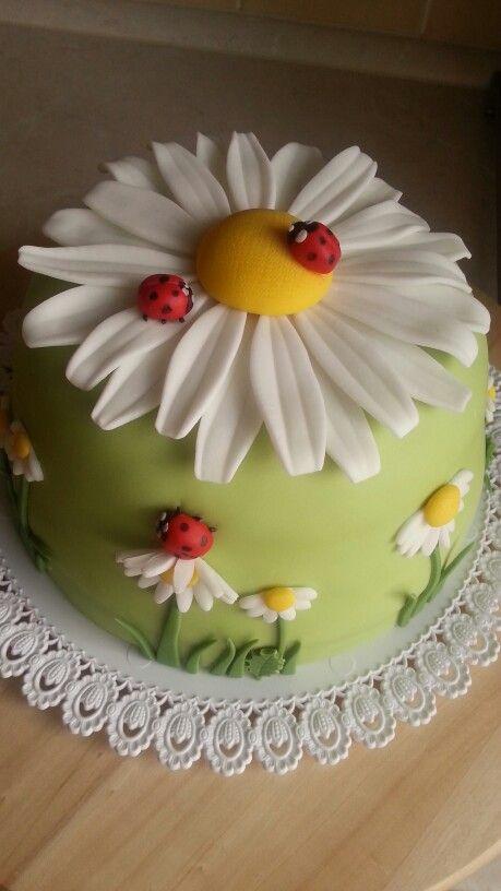 bolo decorado primavera flor