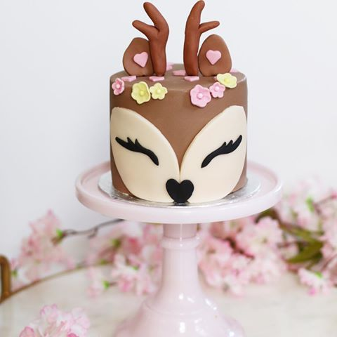bolo decorado rena 2