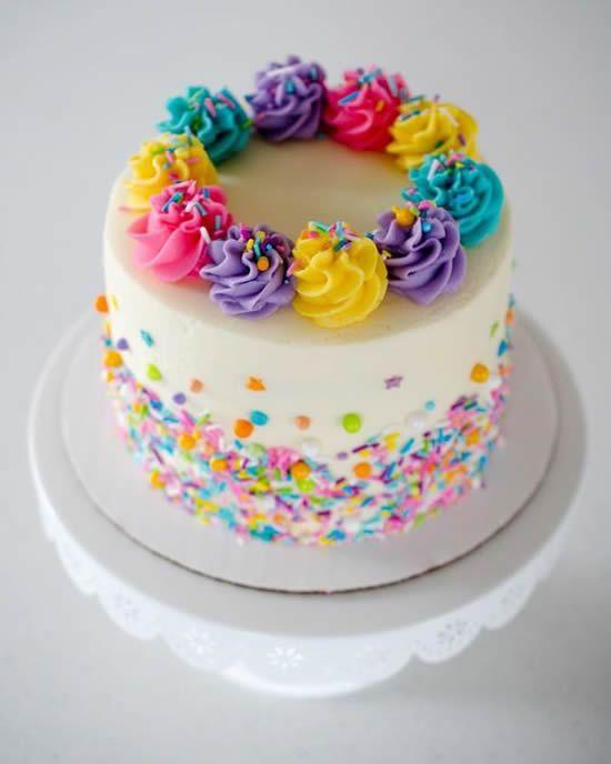 bolo decorado smash cake 1