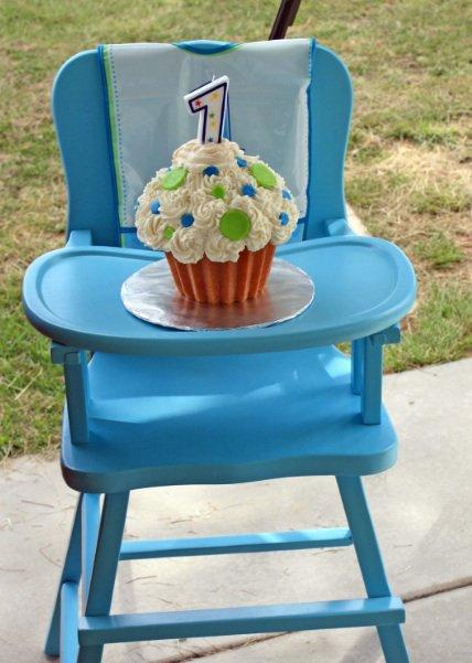 bolo decorado smash cake 12