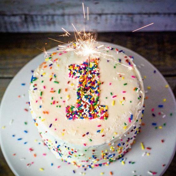 bolo decorado smash cake 2
