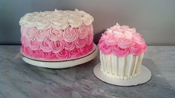 bolo decorado smash cake 6