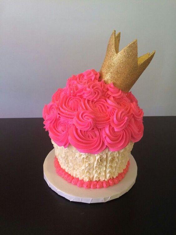 bolo decorado smash cake 8