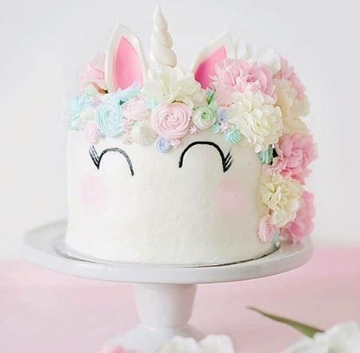 bolo decorado unicornio 1