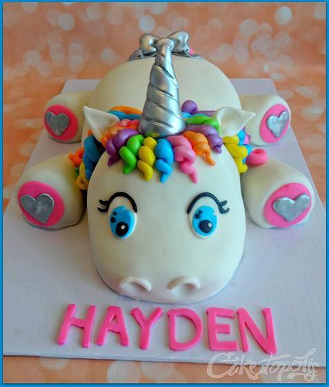 bolo decorado unicornio 4