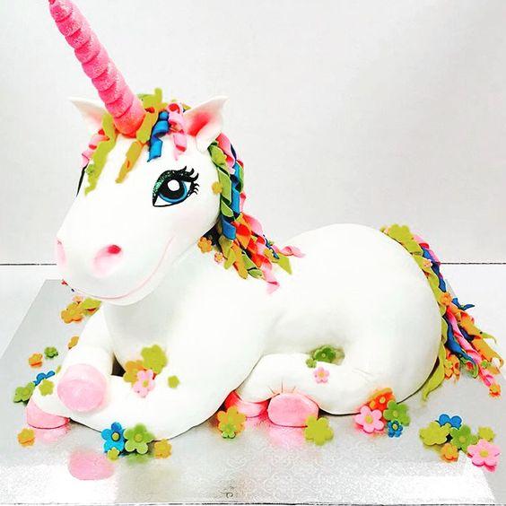 bolo decorado unicornio 5