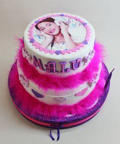bolo decorado violetta