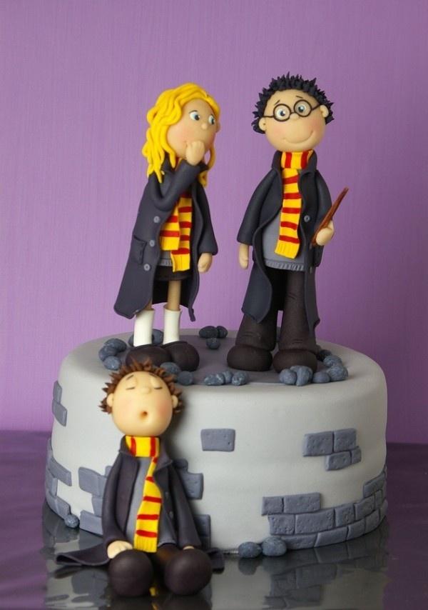 bolo do harry potter criança