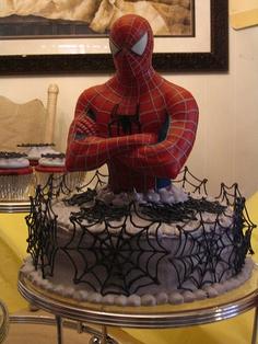 bolo do homem aranha 2
