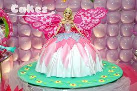 bolo fada barbie