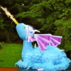 bolo festa dragao