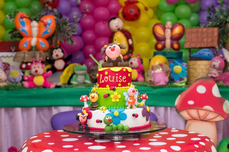 bolo festa jardim encantado