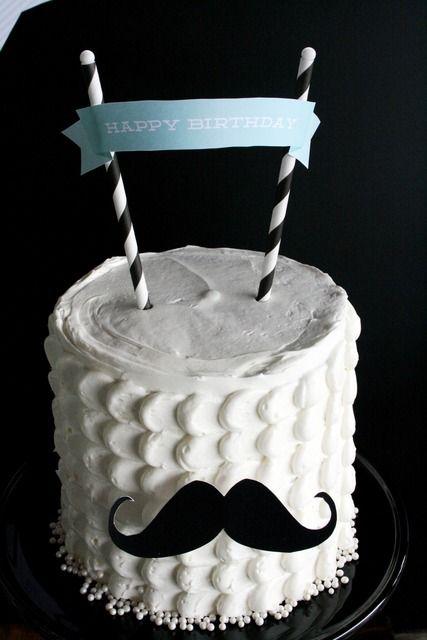 bolo festa mustache